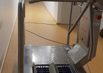 Kohlhoff -higienos stotelės instaliavimas - makaronų gamyba