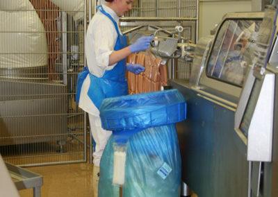 Longopac Maxi - mėsos pramonėje